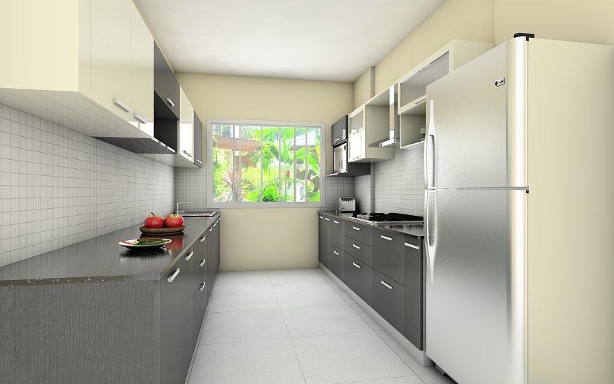 Parallel kitchen parallel modular kitchen amazing deluxe for Modular parallel kitchen designs